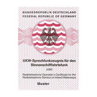"""Gutschein """"Theoriekurse (Onlinekurs) zum UBI (Binnenfunk)"""""""